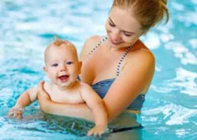 emma baby swimming