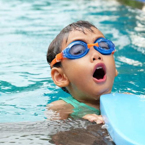 swiming trainer baby